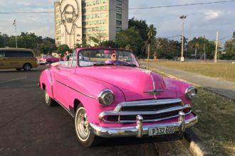 Chevrolet 1950 convertible - Havana taxi