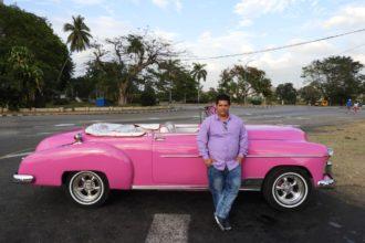 Havana taxi Chevrolet 1950 convertible