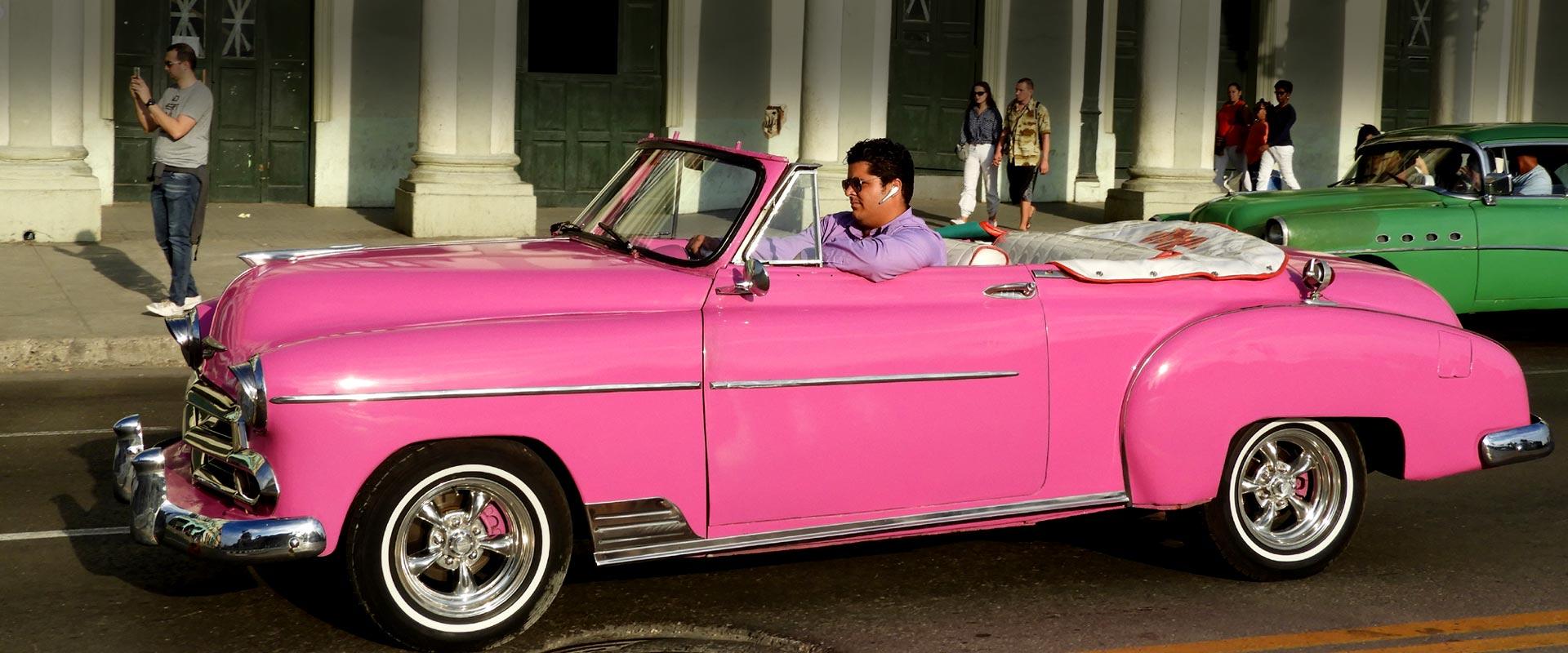 Taxi Havana - Chevrolet 1950 convertible
